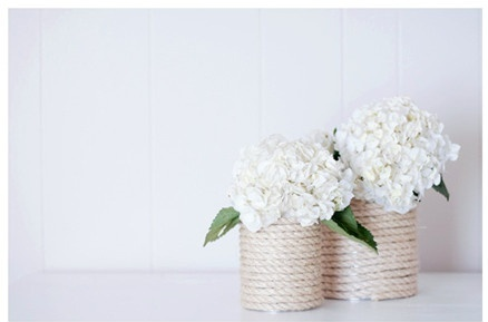 regalo dia de la madre florero 11lata y cuerdas manualidades