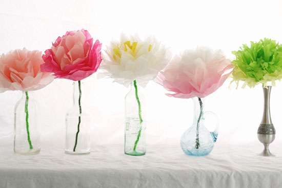 regalo dia de la madre florero flores de papel manualidades faciles