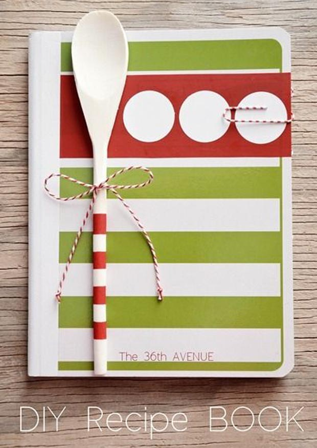homemade cookbooks template - diy regalos d a de la madre manualidades f ciles y