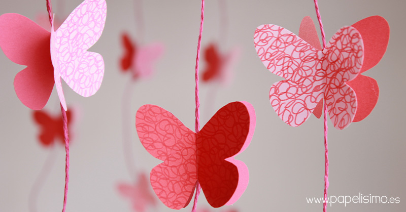 VIDEO Garland Wallpaper Butterflies Room