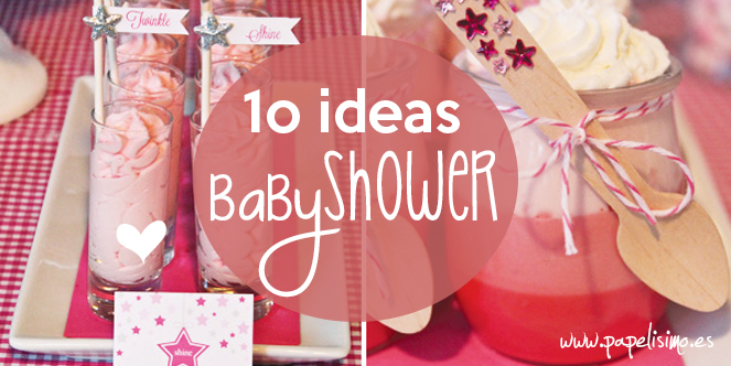 10 ideas fiesta de beb baby shower papelisimo - Fiesta baby shower nina ...