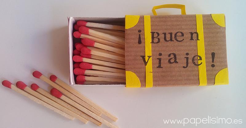 maleta-de-viaje-con-caja-de-cerillas-manualidades-cartón