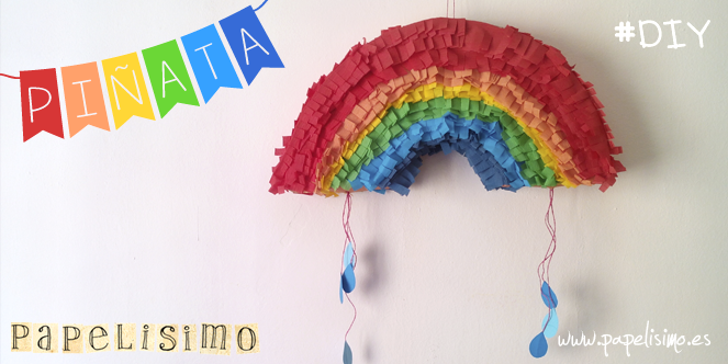 como hacer piñata de papel facil paso a paso con video DIY paper piñata