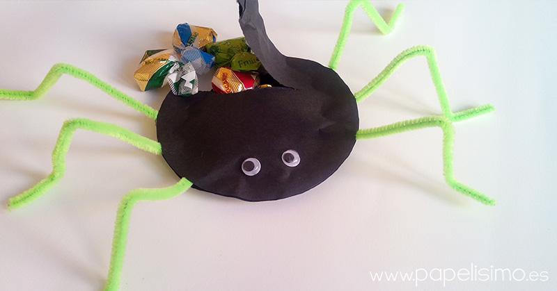 arana-halloween-rellena-caramelos