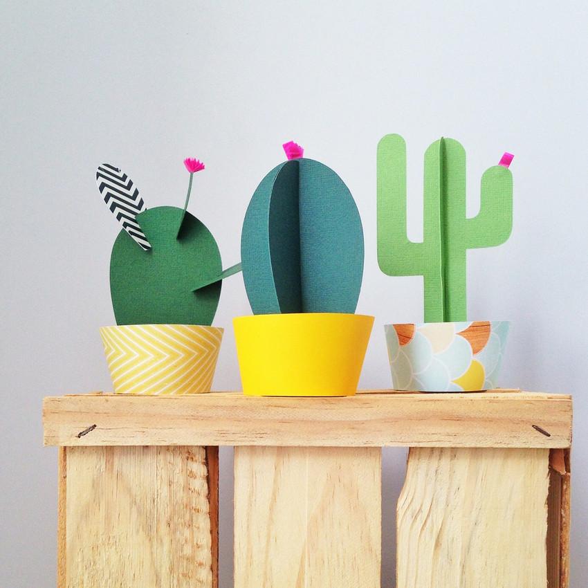 cactus de papel
