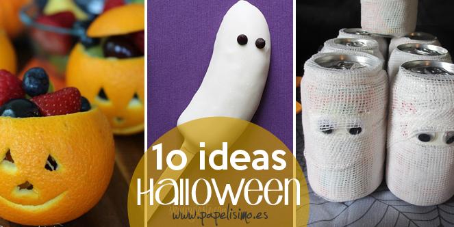 10 Ideas para Halloween PAPELISIMO