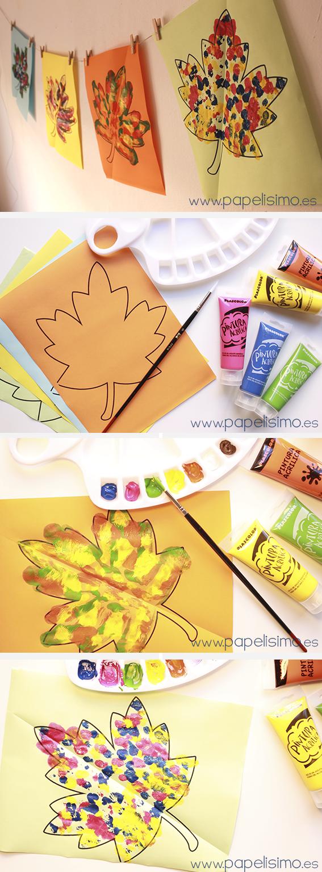 Manualidades-faciles-para-niños-como-pintar-figuras-simetricas