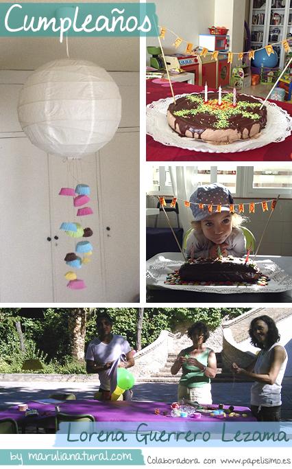 manualidades faciles decorar cumpleaños infantil guirnalda papel