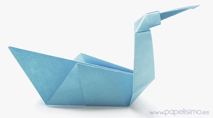 Pajaro de papel manualidades faciles niños Animales de Origami