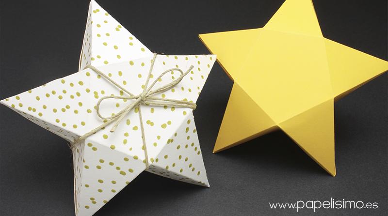 Plantilla estrellas para imprimir papelisimo new style - Plantilla estrella navidad ...