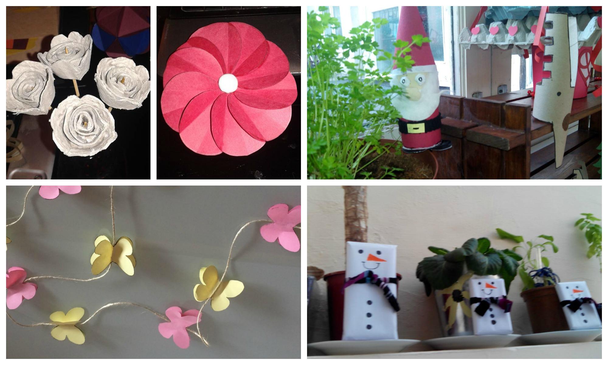 S per manualidades de noviembre adultos papel simos - Manualidades de papel para decorar ...
