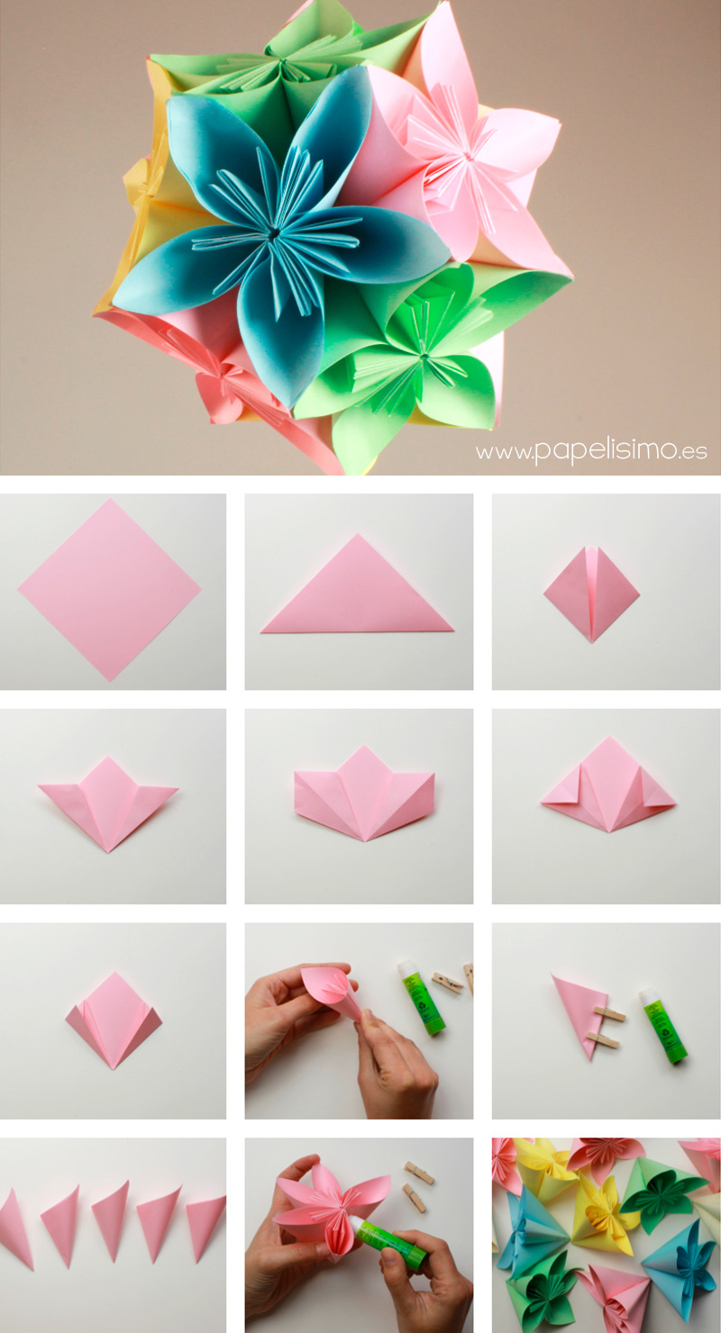 Blog de fiestas decoraciones para fiestas for Rosas de papel