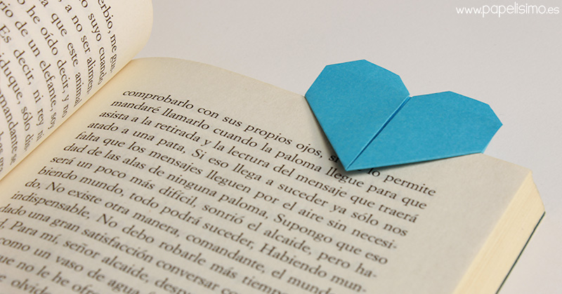 marcapaginas-corazon-origami-bookmark-heart