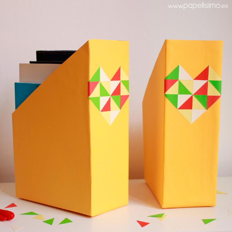 C mo hacer archivador con caja de cereales papelisimo for Cajas personalizadas con fotos