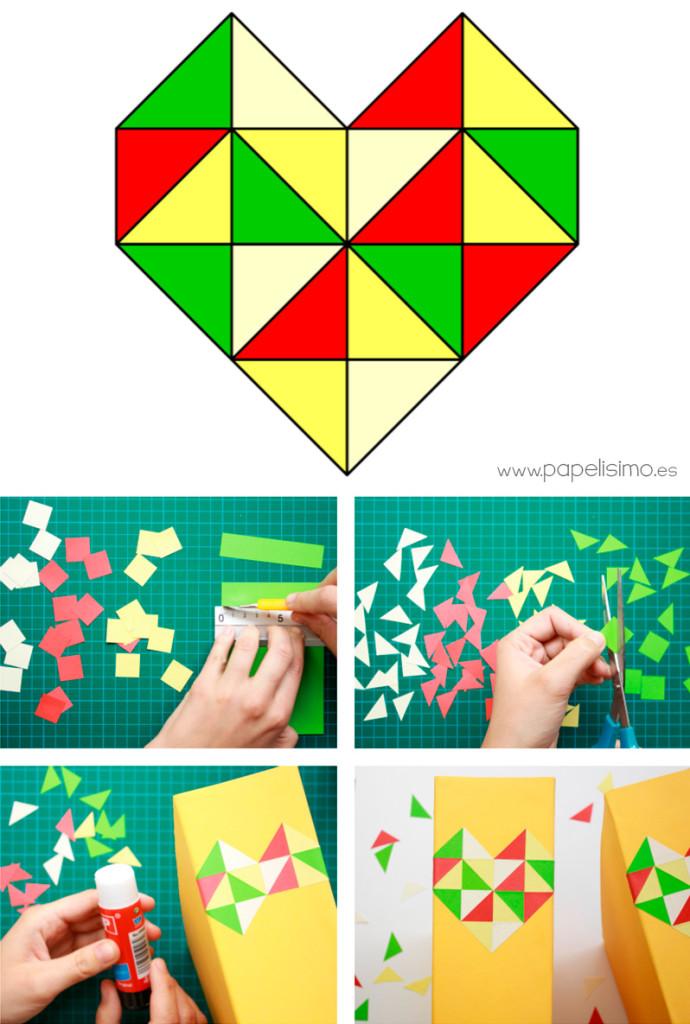 plantilla-corazón-triángulos