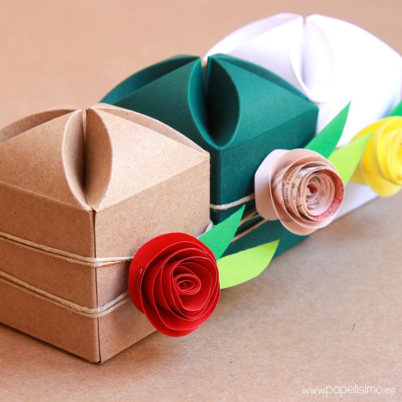 Cmo decorar cajas de regalo para boda PAPELISIMO