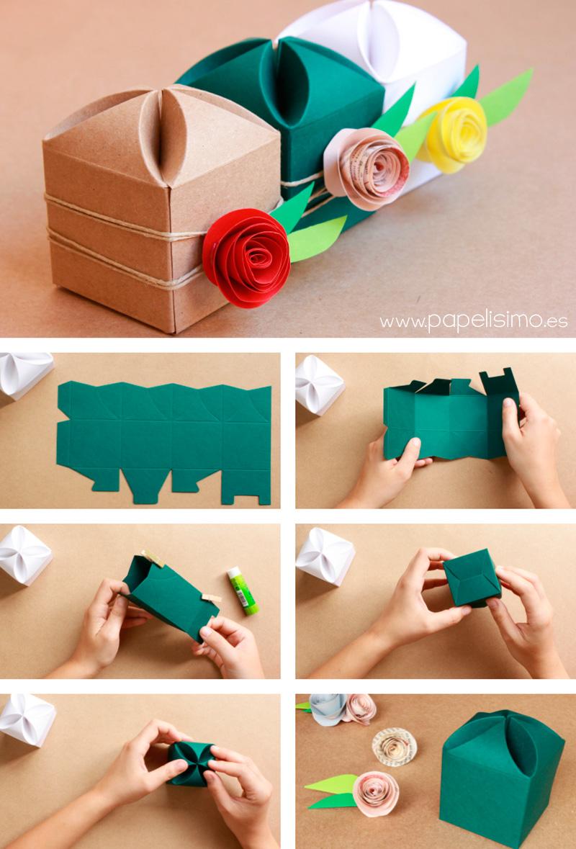C mo decorar cajas de regalo para boda papelisimo - Regalos a mano ...