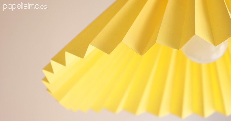 Pantalla-lampara-de-papel-Origami-Paper-lamp