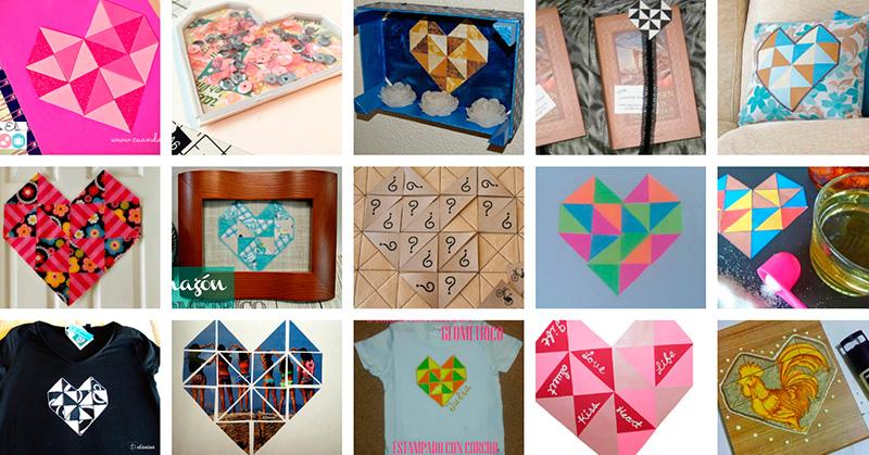 manualidades-corazones-geometricos-reto-papelisimo