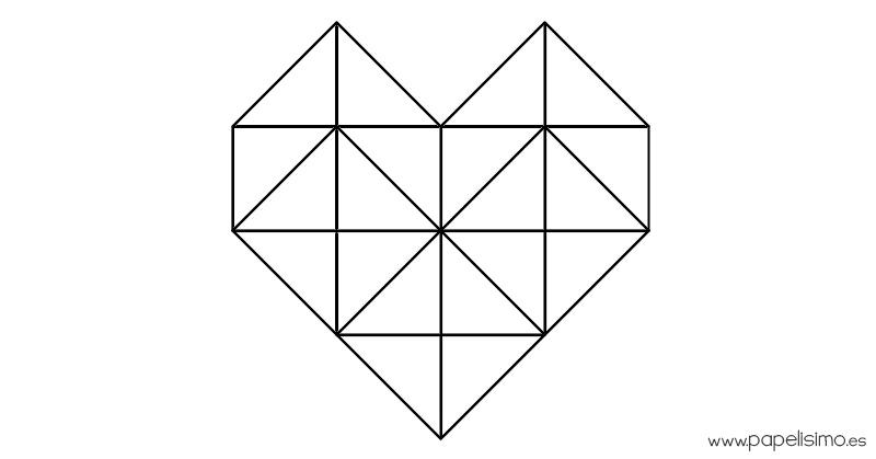 plantilla-corazon-de-triangulos-para-colorear