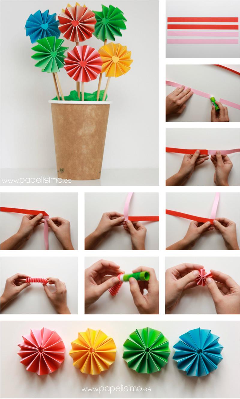 Flores de papel de acorde n doble papelisimo for Crear mi casa en 3d
