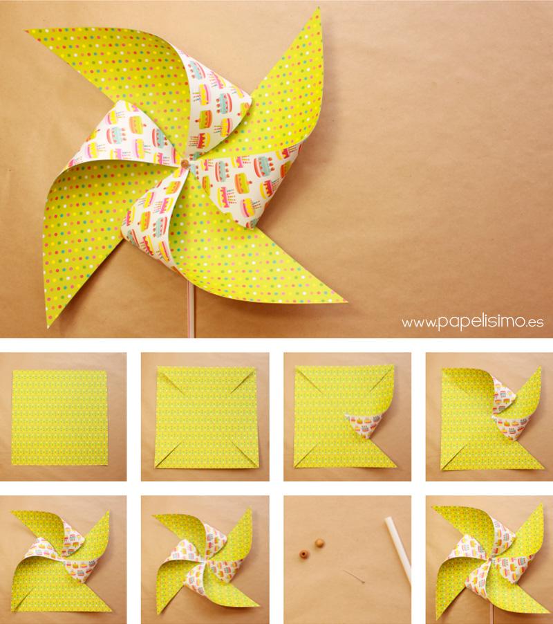 Como-hacer-molinillos-de-papel-que-gira-DIY--paper-Pinwheels