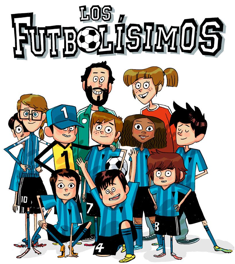 Equipo-los-futbolisimos-libros-niños