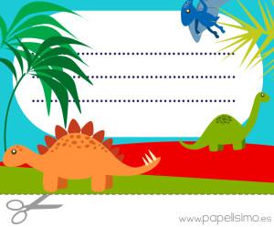 Etiquetas-libros-para-imprimir-dinosaurios