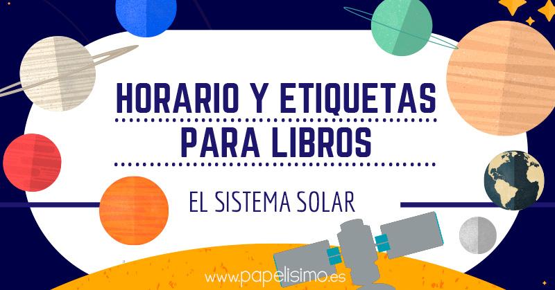 Horario-y-etiquetas-para-libros-planetas-sistema-solar