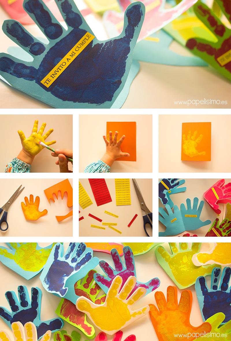 Tarjetas de cumpleaños para niños hechas a mano - PAPELISIMO