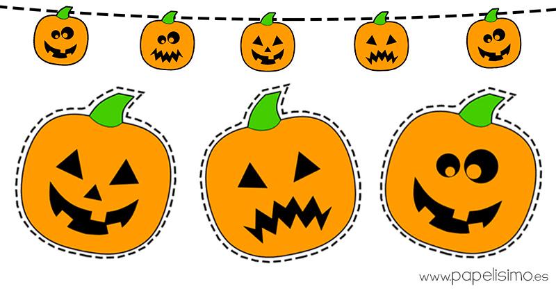 Dibujos Para Colorear De Calabazas De Halloween Para Imprimir: Dibujos De Calabazas De Halloween Para Recortar