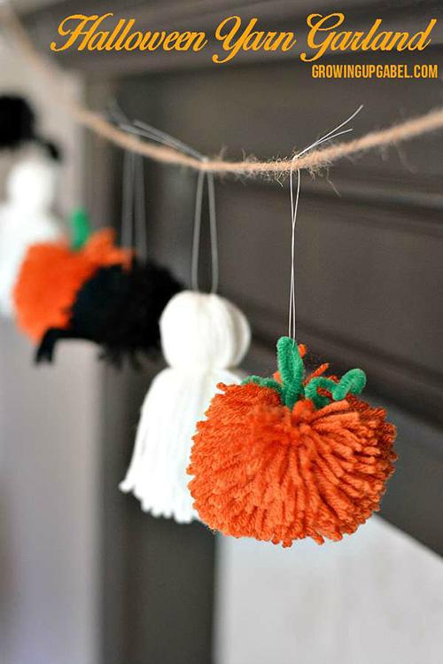 Guirnalda-de-pompones-calabazas-Halloween