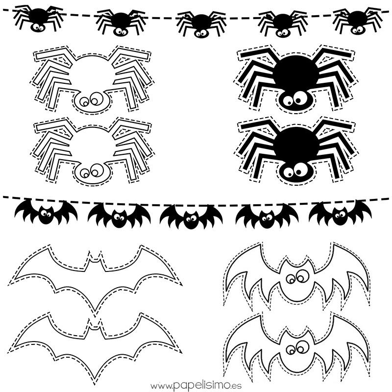 Plantillas-dibujos-Halloween-colorear-niños