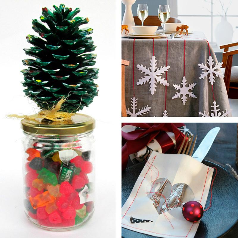 Ideas para decorar en navidad hechas a mano papelisimo for Regalos originales decoracion