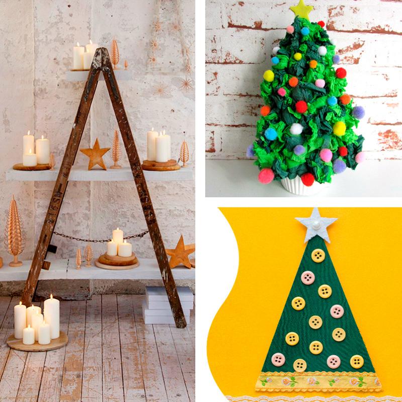 Arboles-de-Navidad-DIY-Crafts-Christmas-trees