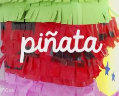 Como hacer piñata de carton reciclada