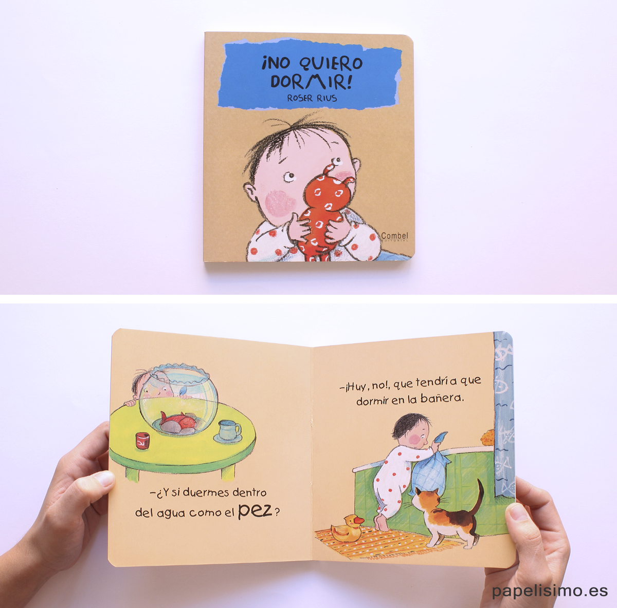 Libros para niños No quiero dormir