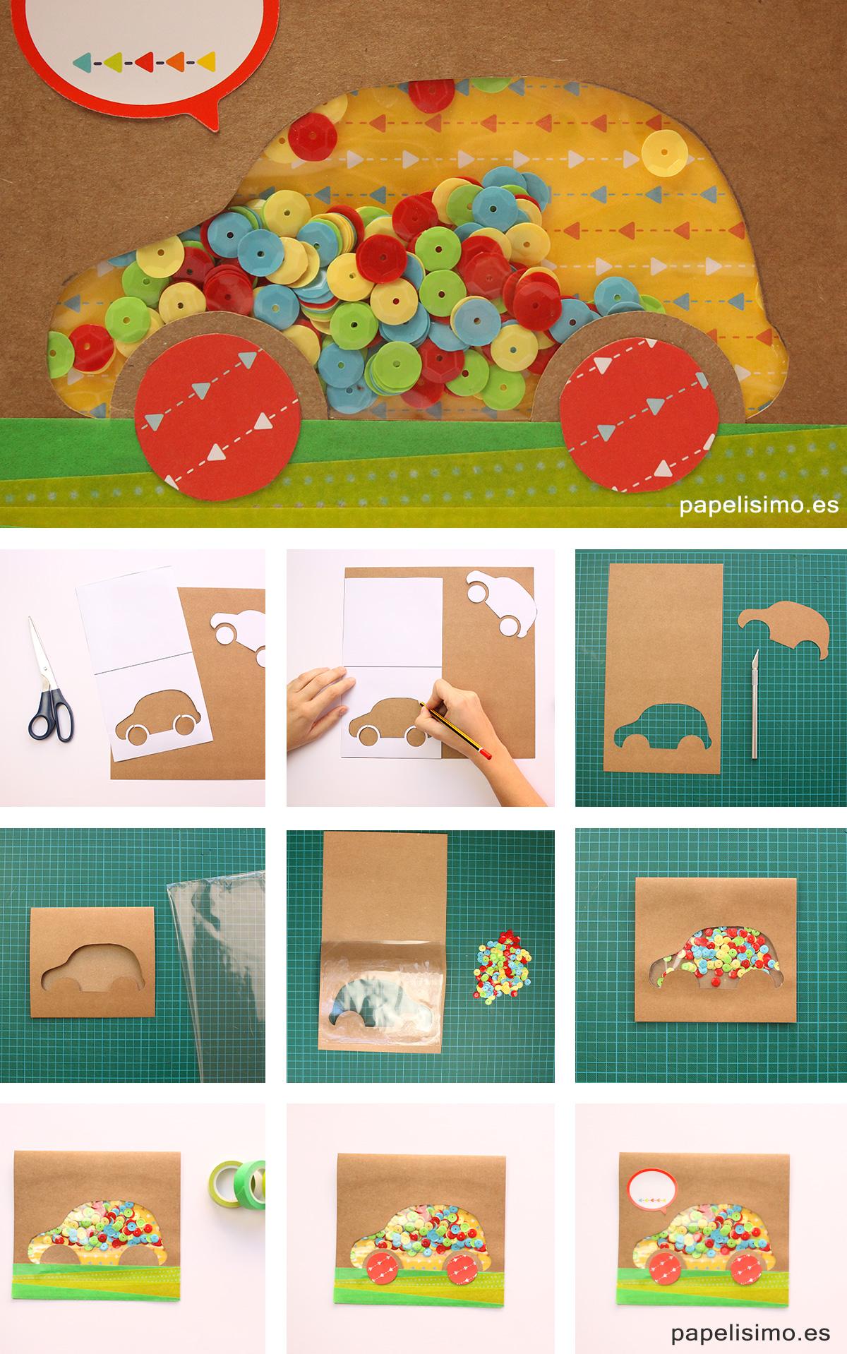 Tarjeta-dia-del-padre-Scrapbooking-Father´s-day-shaker-card