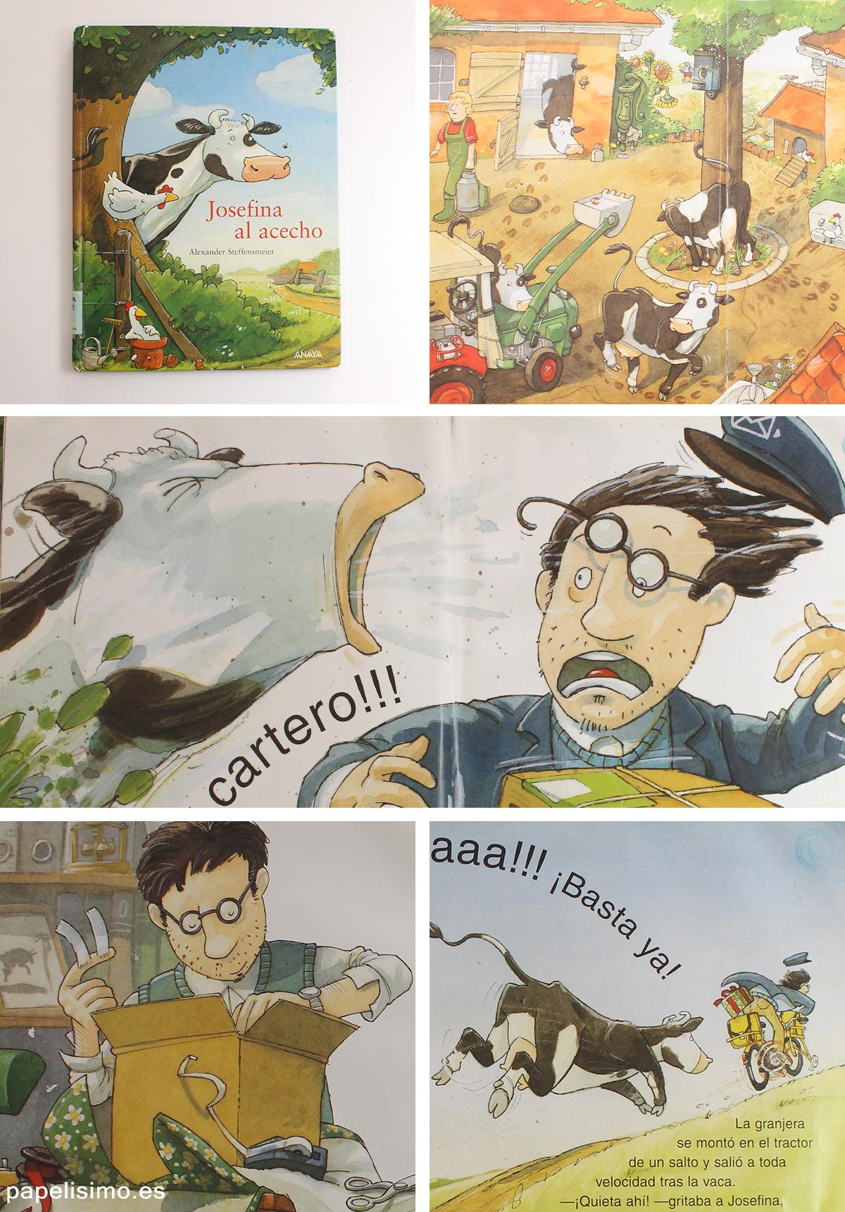Libros-infantiles-cartero-Josefina-al-acecho