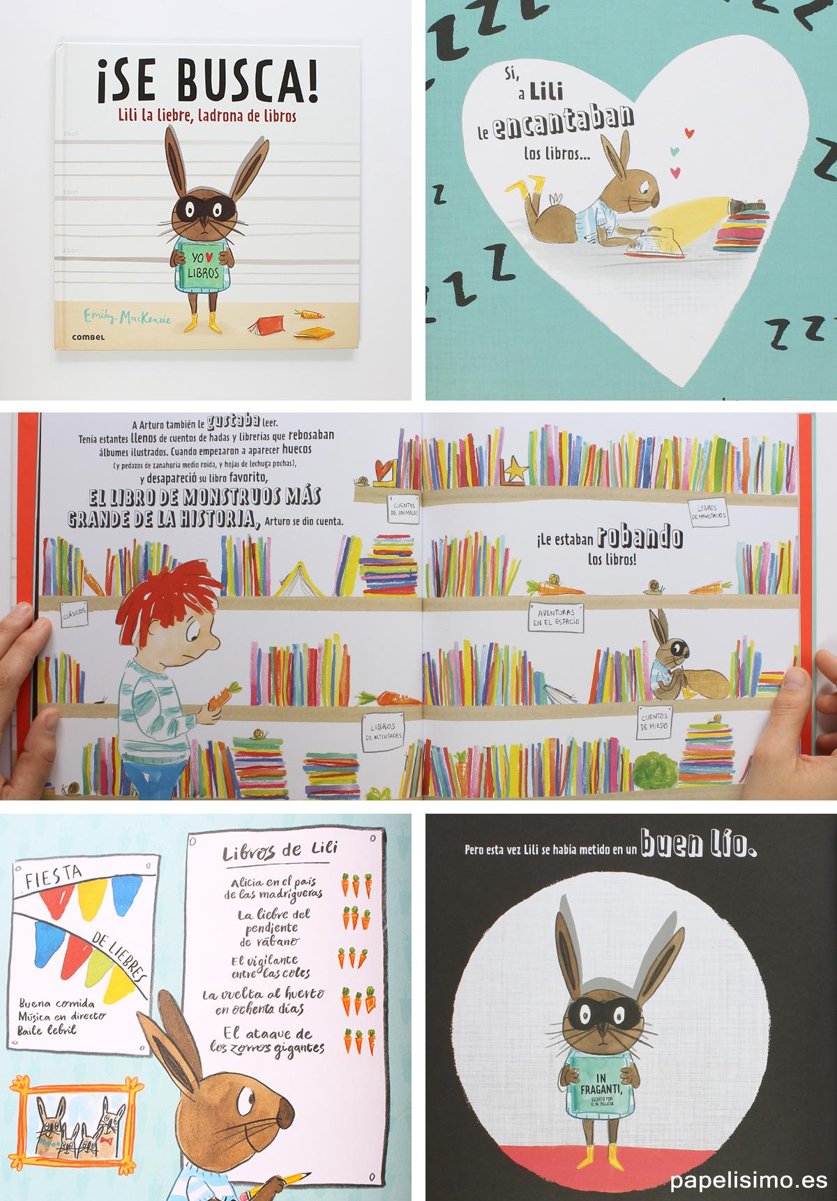 Libros-infantiles-para-fomentar-la-lectura-Lili-la-liebre-ladrona-de-libros