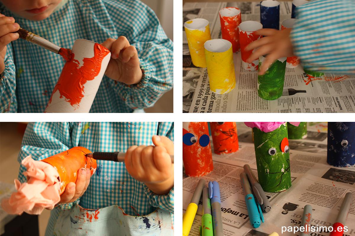 Manualidades-para-niños-con-rollos-de-carton
