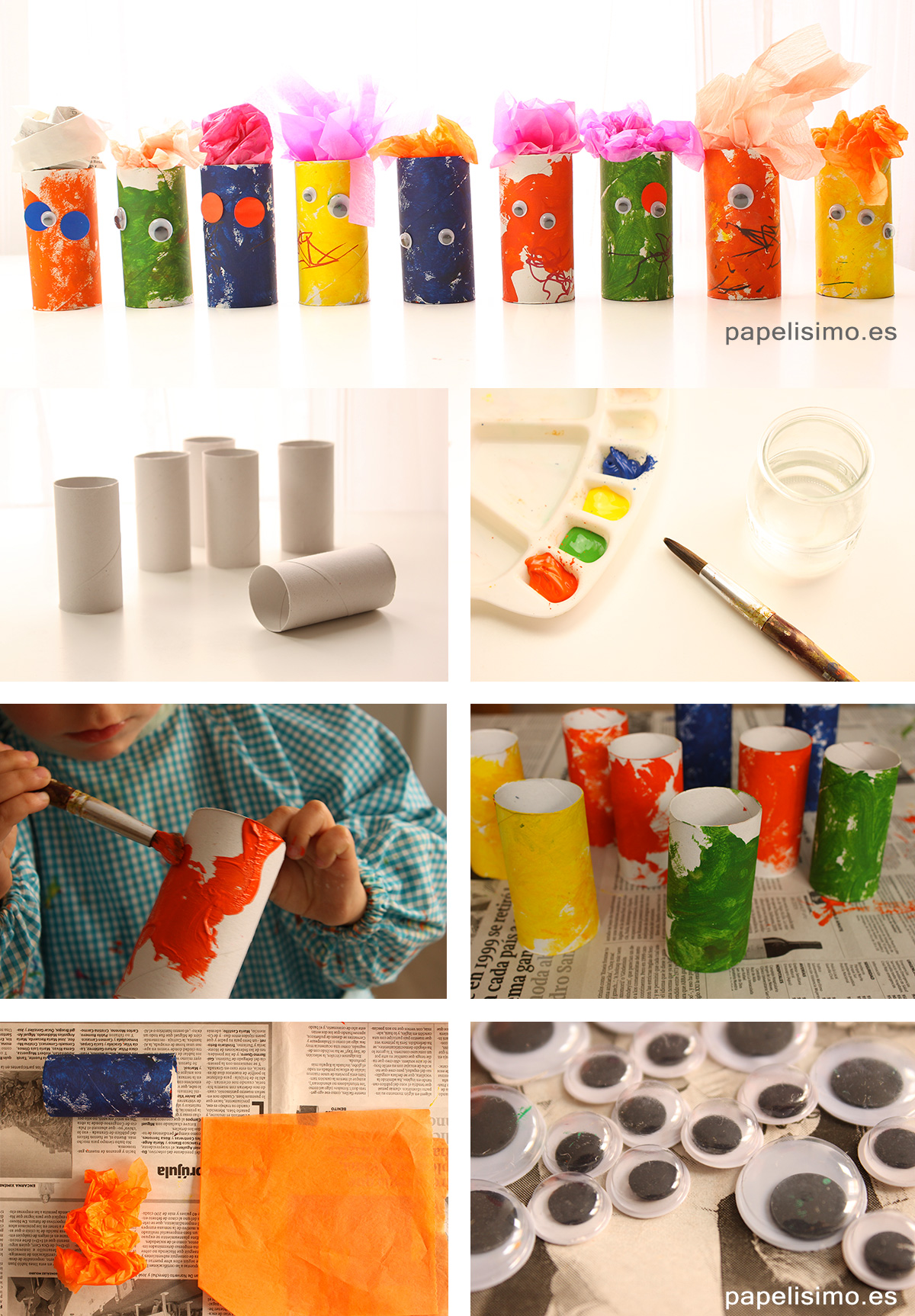 Monstruos-rollos-de-papel-higienico-Diy-paper-tubes