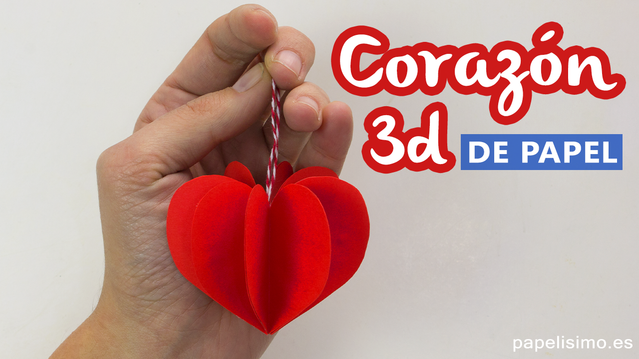 Corazones de papel paper hearts youtube