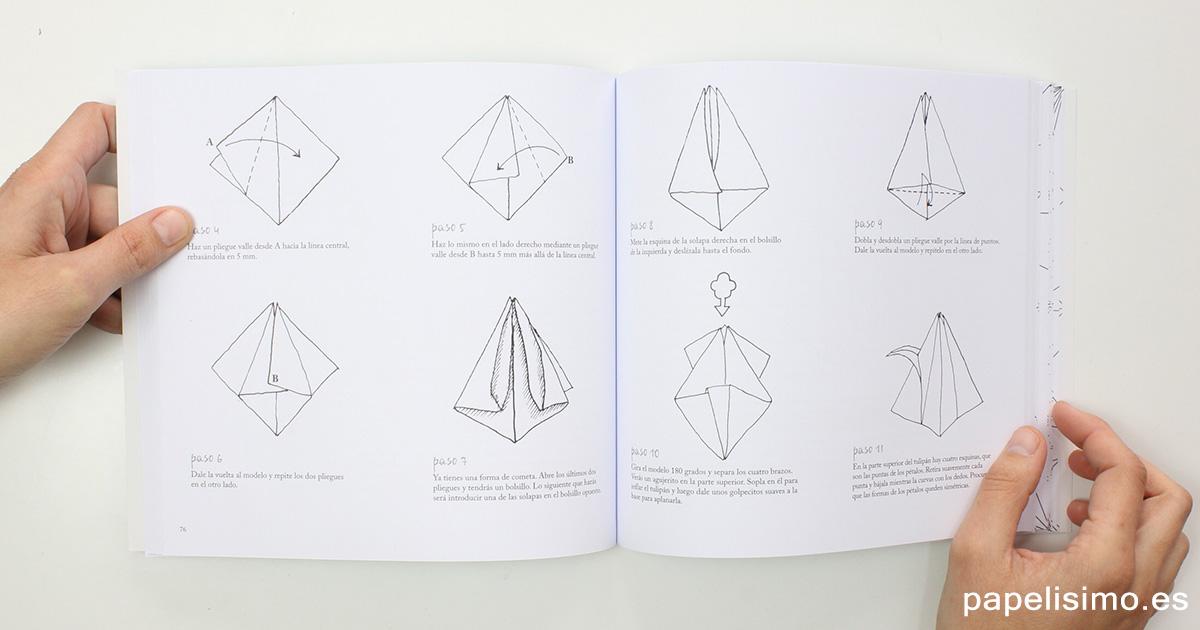 Tulipan-de-papel-origami-tulip