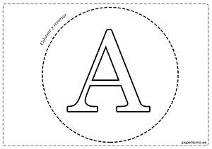 A-Vocales-para-imprimir-grandes-mayúsculas
