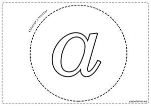 A-Vocales-para-imprimir-grandes-minúscula