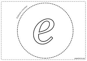 E-Vocales-para-imprimir-grandes-minúscula
