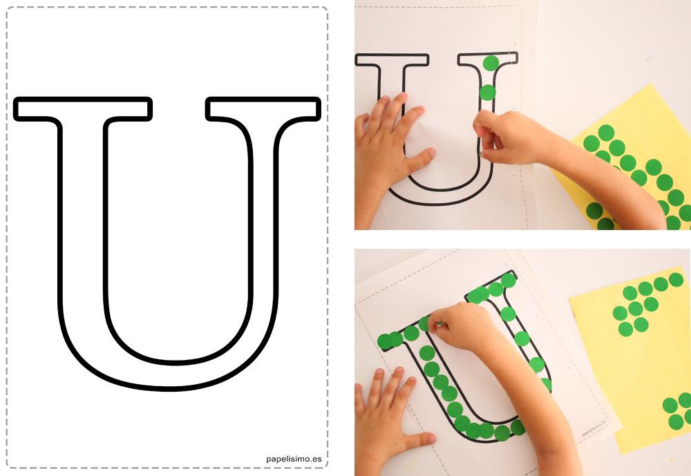 Manualidades-con-letras-para-niños-pegatinas