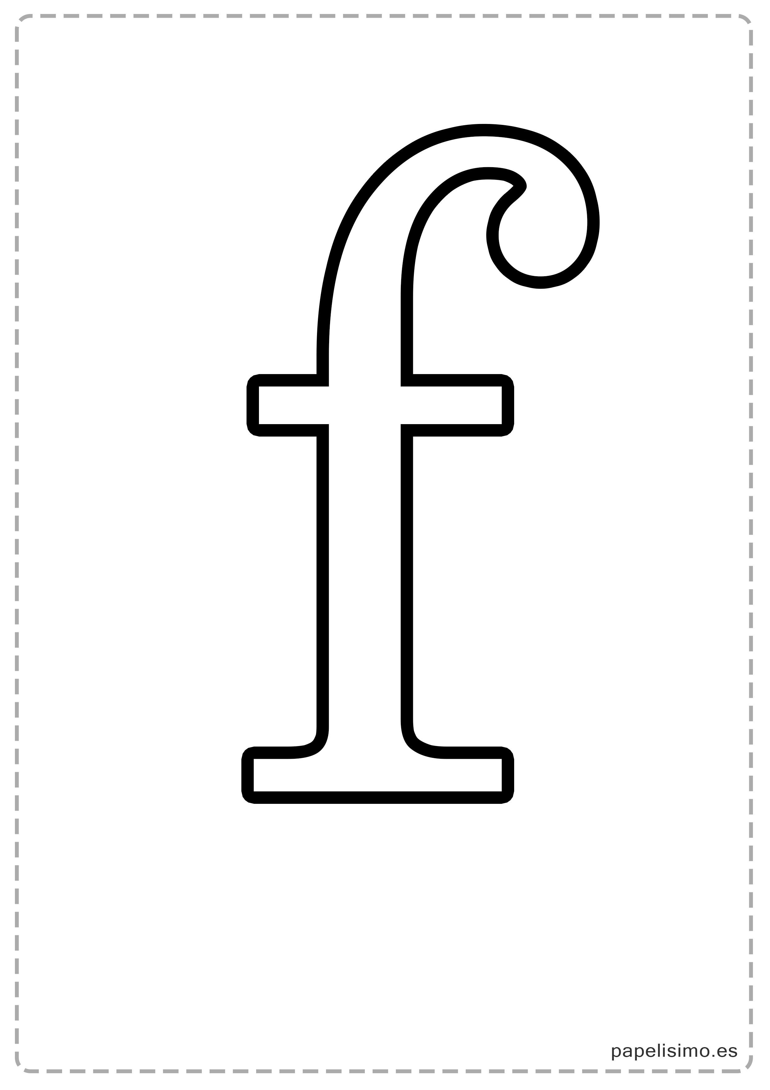 letras grandes para imprimir  min u00fasculas