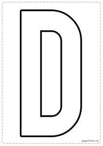 D letras para recortar y pegar guirnalda feliz cumpleaños